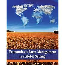 Economics of Farm Management in a Global Setting