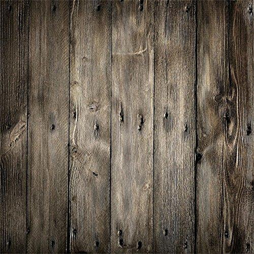 Distressed Holzböden (YongFoto 3x3m Vinyl Foto Hintergrund Holzwand Distressed Holz Vintage Shabby Chic HolzHolz Brett Fotografie Hintergrund für Photo Booth Baby Party Banner Kinder Fotostudio Requisiten)