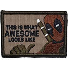 This is What Awesome Looks Like, Deadpool Parody - 2x3 Morale Patch - Coyote