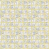 """""""Winnie the Pooh""""- Textil –0,5Meterware–von Spring Creative–100% Baumwolle SC173 Winnie the Pooh Eeyore Piglet Squares"""