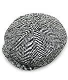 c20cd478ab1c1 Hombres de estilo Newsboy 8 piezas de casquillo plano Herringbone lana Hat  (20)