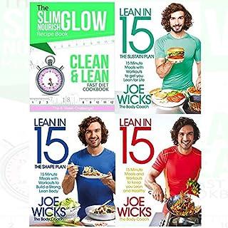 Joe Wicks Books and The Slim Glow Nourish Clean & Lean Fast Diet Cookbook 4 books Collection set