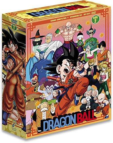 Dragon Ball Sagas Completas Box 2 Ep. 69 A 108 [DVD]