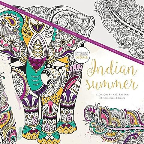 Kaisercraft CL514 Indian Summer Livre de coloriage
