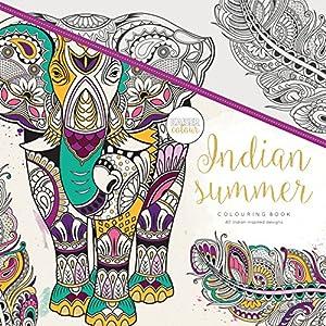 Kaisercraft - Libro para colorear Indian Summer (CL514)