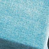 Eeayyygch Tovaglie Tovaglie massicce, tovaglie in Cotone Antiscivolo Tovaglie Tavolino da Pranzo Scrivania da casa-Grigio Scuro 140x140cm (55x55inch) (Colore : Blu, Dimensione : 70x70cm(28x28inch))