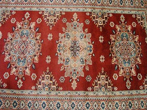 Exklusive kafkazi Geometrische Design Rechteck Bereich Teppich Hand geknotet Wolle Teppich (6x 4) ' (Bereich Geometrischen Teppich)