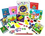 #8: XploraBox Learning Toys-Fun with Shapes and Colours Activity Kit, Ages 2-4
