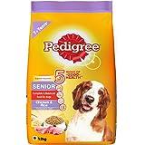 Pedigree Senior (7+ Years) Dry Dog Food- Chicken & Rice, 1.2kg Pack