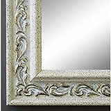 Specchio da parete, per guardaroba, corridoio, bagno, oltre 200misure, colore: panna Verona, bianco, 4,4, Dimensioni esterne dello specchio, bianco, 50 x 60