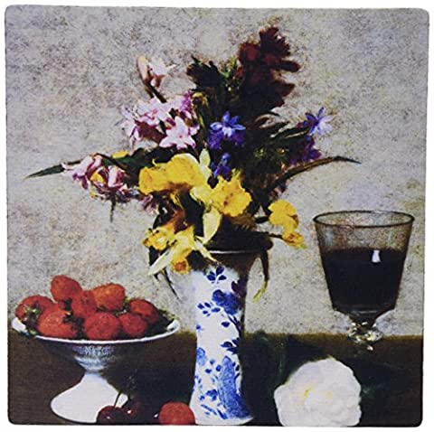 3dRose Betrothed Still Life by Henri Fantin-Latour Mouse Pad