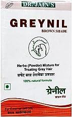 Dr. Jain's Greynil Brown Shade Herbal Hair Colour Treatment - 100g