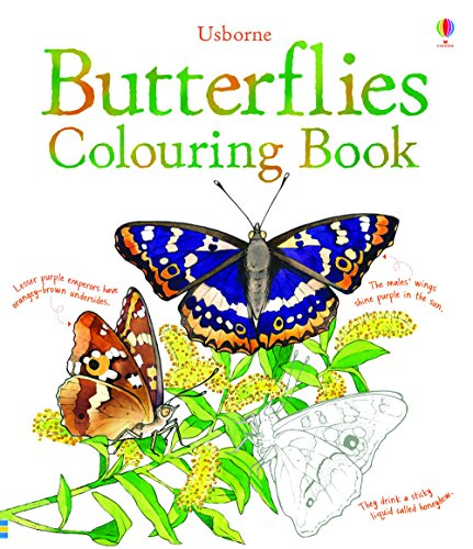 Butterflies Colouring Book (Nature Colouring Books)