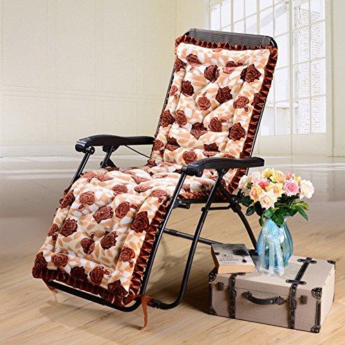 CCYYJJ Baumwolle Gepolsterten Lehnstuhl Pad, Tuch Sofa Schaukelstuhl Polster Thicked Rutschfeste Stuhl Decken Sitzkissen - 53 X 160 Cm (21 X 63 - Gepolsterte Schaukelstuhl Hocker