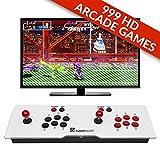 Superspot Retro Arcade Games Console - 999 Classic Games - 2 Player - Pandora's Box 5S - HD - VGA - 3 Pin UK Plug - 8 Way Joystick