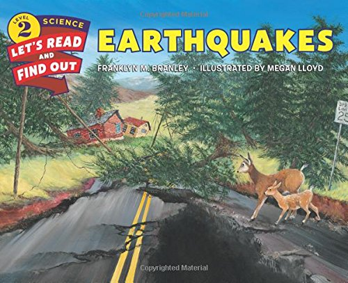 Earthquakes by Franklyn M. Branley Paperback Book New