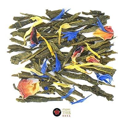 L'Empire Des Thés - Fleurs De Mai - Thé Vert à la Mangue et Bergamote - 100G