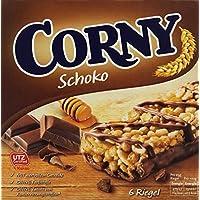 CORNY Schoko, Müsliriegel, 150g Schachtel mit 6 Riegeln
