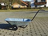 Schubkarre Handwagen Friedhofskarre Gartenkarre - Ideal für Blumenbeetarbeiten - Fertigung in Europa !!