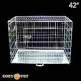 Le gabbie Cozy Pet per cani sono prodotte rispettando gli standard più elevati, sono dotate di 2ante con 2 serrature per anta, vassoio in metallo di qualità anti-masticazione, rivestimento epossidico sostenibile, maniglia di trasporto e logo...