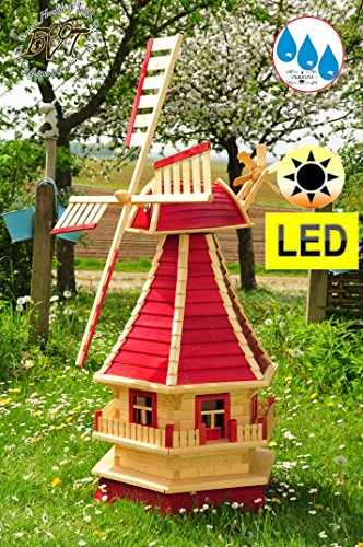 DESIGN-Gartenwindmühle 130 cm, einstöckig