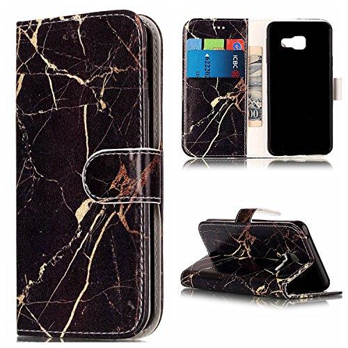 Für Samsung Galaxy A310 Horizontale Flip Case Cover Luxus Blume / Marmor Textur Premium PU Leder Brieftasche Fall mit Magnetverschluss & Halter & Card Cash Slots ( Color : A ) D