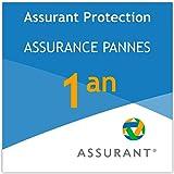 1 an extension de garantie pour un équipement d'espaces de stockage de données de 50 EUR à 59,99 EUR