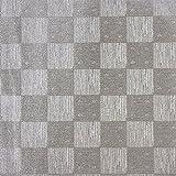 Design Faltpapiere, Karo-Design, quadratisch, 10 x 10 cm, 100 Blatt | Papier für verschiedene Falttechniken, Origami, Fleurogami, Bastelpapier | Origami-Papier (silber)