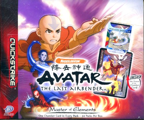 Avatar the last Airbender - Master of Elements Booster Display (24 Booster) (Avatar Last Airbender Spielzeug)