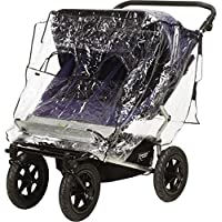 Playshoes Baby Travel Universal Pushchair Buggy Tandem Duo Twin Rain Cover - ukpricecomparsion.eu
