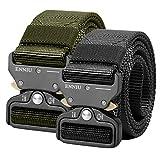 Die besten Tactical Gürtel - AIZESI Tactical Gürtel Military Nylon Gürtel Belt mit Bewertungen