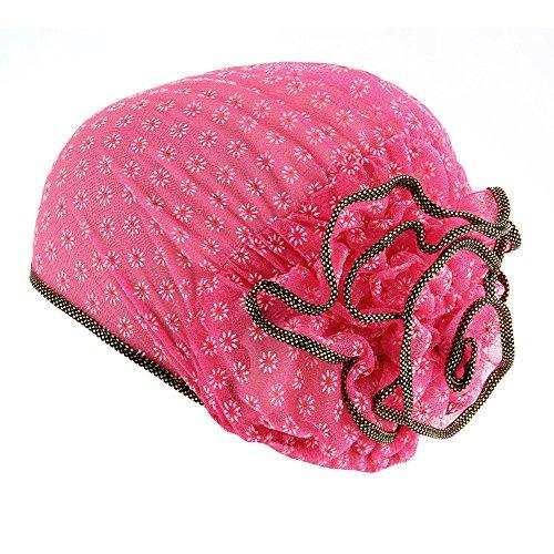 Kobay Cappello Musulmano a Turbante Elasticizzato per Donna Cappello  Chemisier Berretto per Capelli a Testa di 73c91bdca259