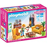 Playmobil- 5308 - Salon avec poêle à bois