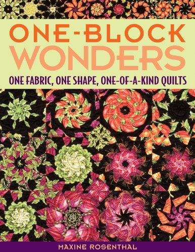 One Block Wonders: One Fabric, One Shape, One-of-a-Kind Quilts (English Edition)