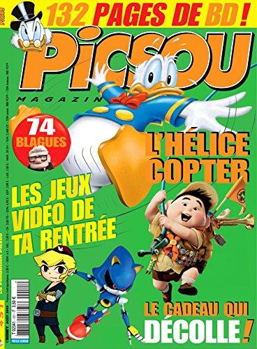 PICSOU MAGAZINE [No 451] du 01/08/2009 - L'HELICE COPTER - LES JEUX VIDEO DE TA RENTREE - LE CADEAU QUI DECOLLE