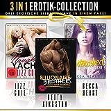 3 IN 1 ✪ Erotik Roman Paket (Naughty Yacht, Billionaire Brothers, Untouched - Erotische Liebesromane für Frauen ab 18)