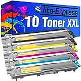 PlatinumSerie 10 Toner XXL kompatibel für Brother TN-241 TN-245 DCP 9015CDW 9020CDW HL 3140CW 3150CDN 3150CDW 3170CDW MFC 9130CW 9140CDN 9330CDW 9340CDW