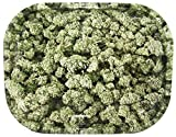 Rolling Tray - Buds - Hanpfblüten - 180x140x16mm, Bröselschale, Mischeschale
