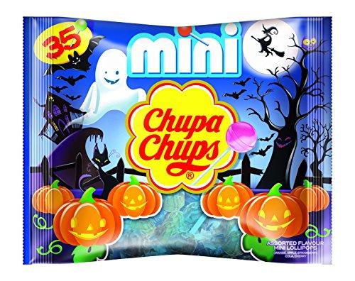 Chupa Chups Halloween Mini Lutscher, 8x35er Beutel Lollis, -