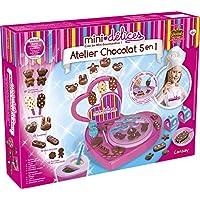 Lansay- Mini délices Mon Super Atelier Chocolat 5 en 1- 17903-