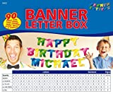 Folat Erstelle Deine eigene Girlande! // MEGA Banner Letter Box für eine ind