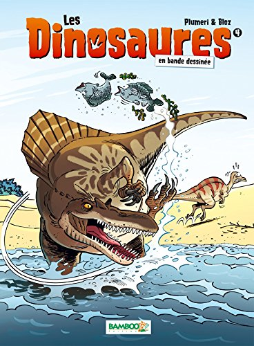 Les dinosaures en bande dessinée, Tome 4 : par From Bamboo Editions