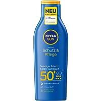 Nivea Sun Schutz & Pflege Sonnenmilch mit verbesserter Formel, Lichtschutzfaktor 50+, 1er Pack (1 x 200 ml)