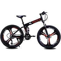 Bike Faltrad Fahrrad Mountainbike Bike Klapprad 26 Zoll Faltbares Professionelle 21-Gang-gänge Rahmen aus…
