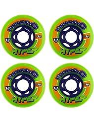 Hyper Rollen für Inlineskates Formula G Era - Ruedas para patines en línea, color multicolor, talla 76