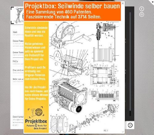 Preisvergleich Produktbild Seilwinde selber bauen: Deine Projektbox inkl. 460 Original-Patenten bringt Dich mit Spaß ans Ziel!