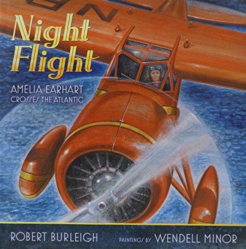 Night Flight with CD: Amelia Earhart Crosses the Atlantic