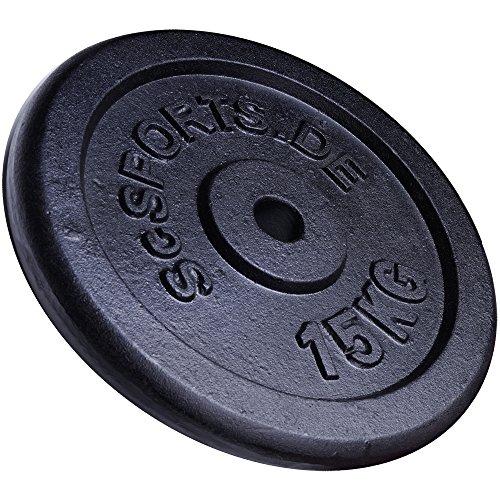 15-kg-Hantelscheibe-Gusseisen-ScSPORTS-Gewicht-Guss-3031-mm-Lochdurchmesser-Bohrung