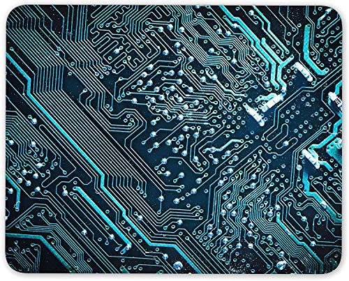Motherboard Mouse Mat Pad - Gamer Geek Engineer Electric Computer Gift #16402 (Xp Motherboard)