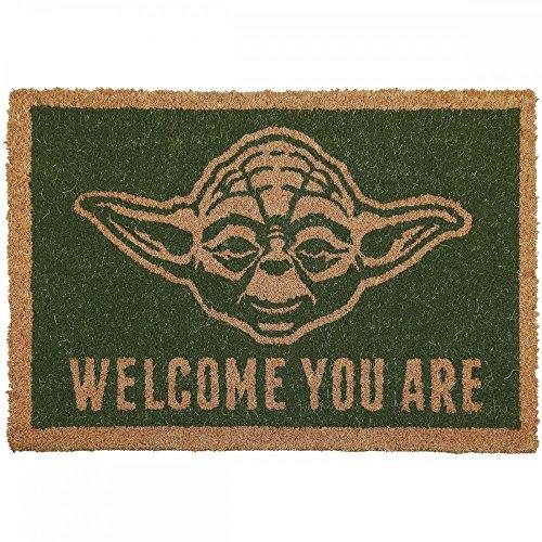 Star Wars - Yoda - Fußmatte - Offizielles Merchandise | Türmatte aus Kokos und Kunststoff in...